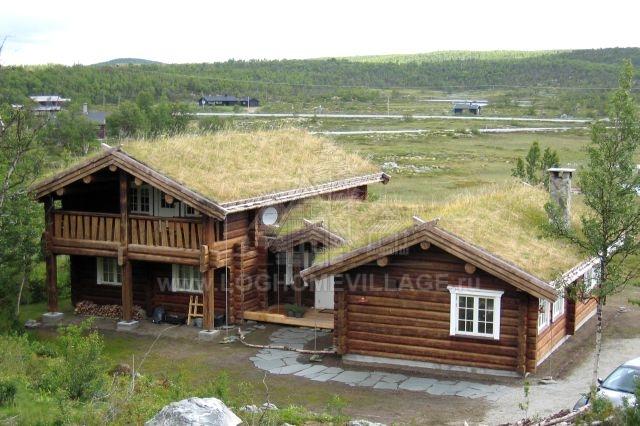 Norwegian log house style - Norwegian wood houses ...